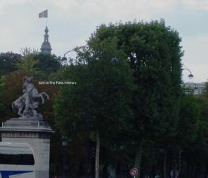 End of the Champs Elysees at Place de la Concorde