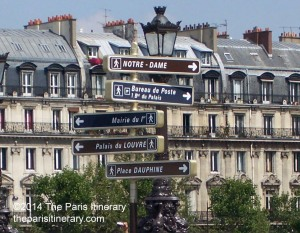 The-Paris-Itinerary-2014-location-signs-in-Paris